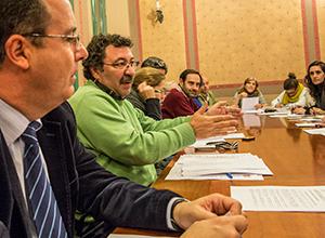 El representante del PSOE, Antonio Gómez