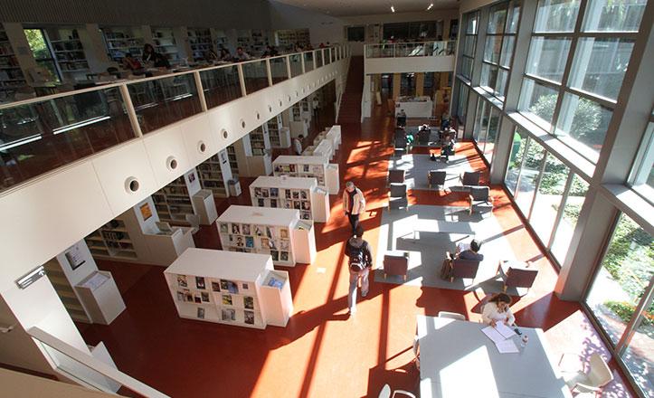 La biblioteca Infanta Elena