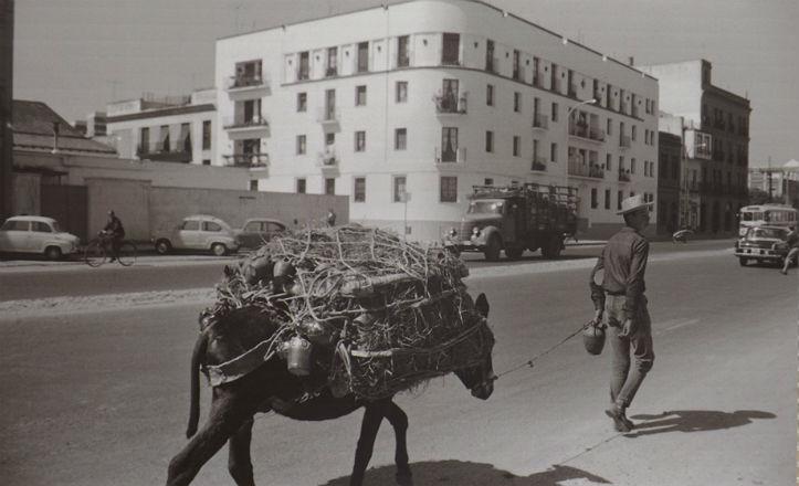 Calle Luis Montoto en el año 1966