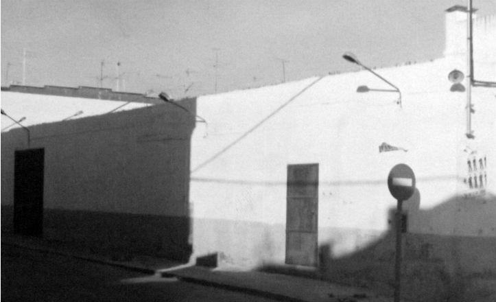 Fachada del cine de verano Casablanca