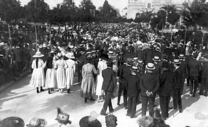 Congreso Garden City celebrado en el Parque en 1918