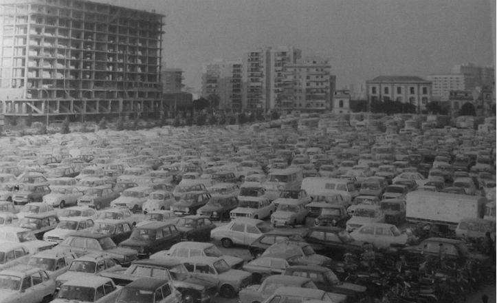 Calle Luis de Morales en el año 1976
