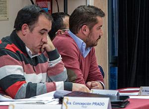 Representantes del PSOE