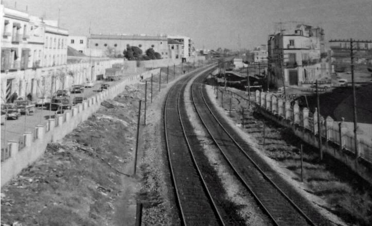 Calle Juan Antonio Cavestany en el año 1971