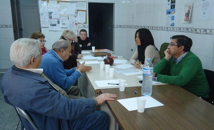 Rincón recoge las propuestas de la Asociación de Vecinos El Cerezo