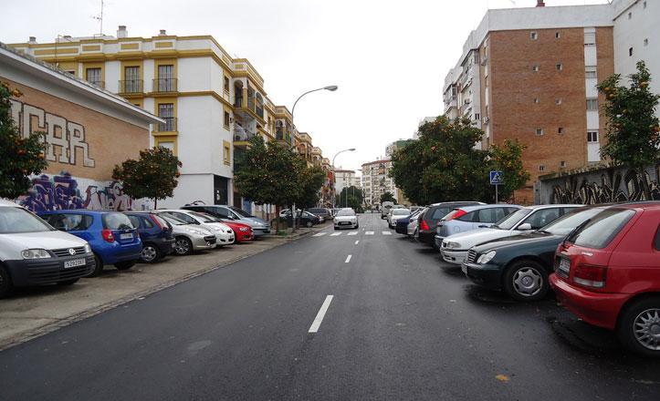 Asfaltada la calle Antonio Buero Vallejo