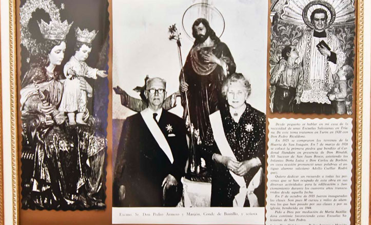 ¿Quiénes fueron los Condes de Bustillo?