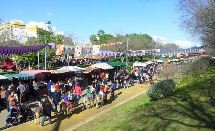 Un Mercado Medieval Andalusí en el Parque de Miraflores