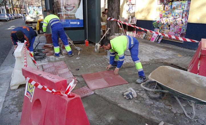 Comienzan las obras para hacer más accesible la calle León XIII