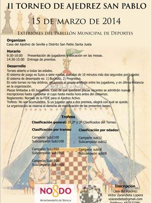San Pablo celebra el II Torneo de Ajedrez