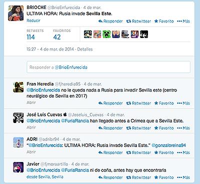 Sevilla Este en Twitter