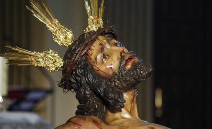 El Cristo de la Sed en una imagen de archivo