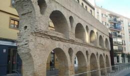 Restos de los caños de Carmona que aún se conservan en Sevilla
