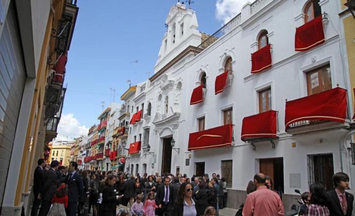 Pureza, la calle Ancha y Larga de Santa Ana