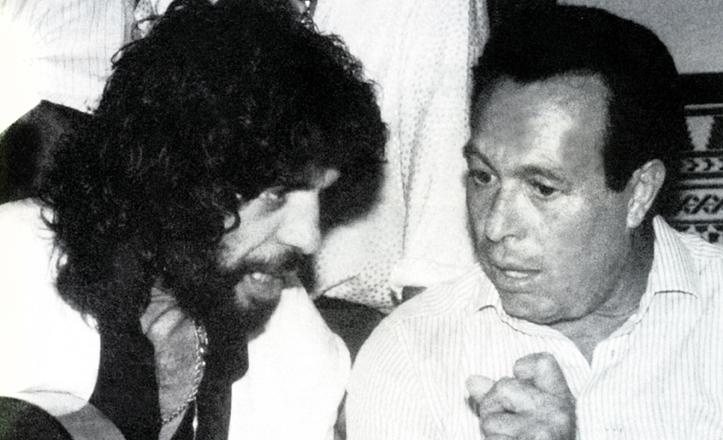 Camarón y Curro Romero, grandes amigos