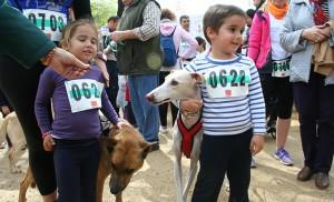 Los más jóvenes también participan del Canicross