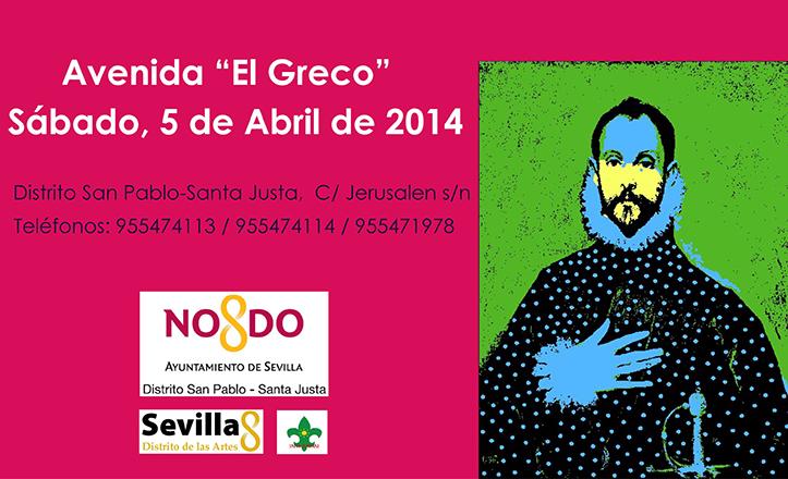 Cartel de las jornadas por el «Día de El Greco»