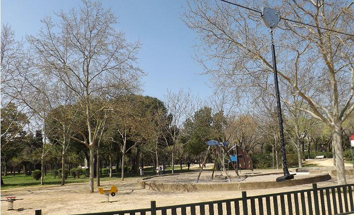 Zona infantil del Parque Amate