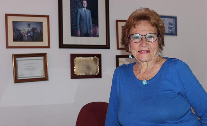 Conchita Rivas, presidenta de la Asociación Bermejales 2000