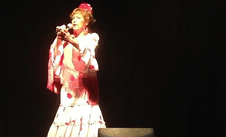 Momentos del concierto «Aires de copla»