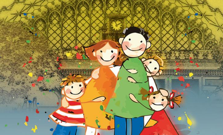 Logo de la Primera Feria de Educación y Ocio en familia