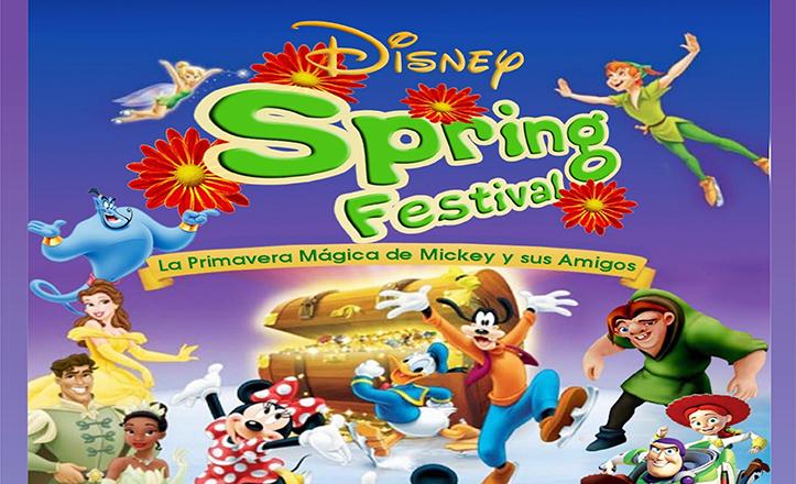 Cartel del festival benéfico Disney