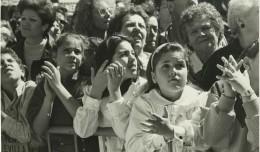 Primera salida procesional dela hermandad del Cerro en 1989