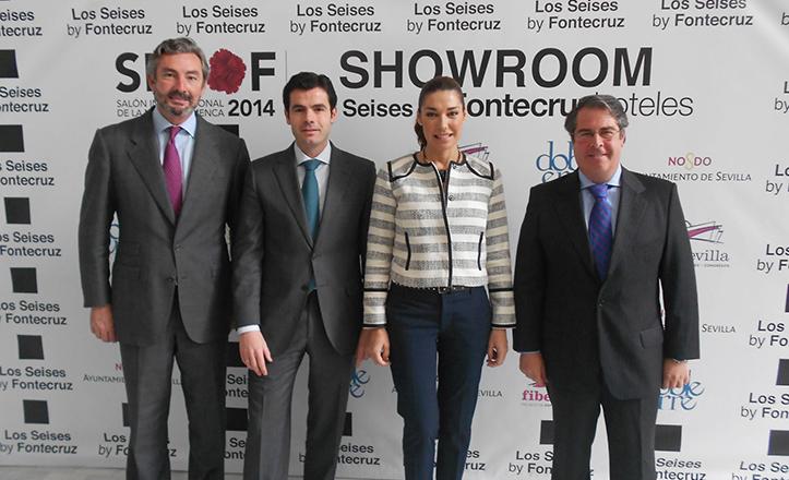 Presentación del Showroom Oficial SIMOF 2014, con Gaspar Sáez, Héctor Abuín, Raquel Revuelta y Gregorio Serrano