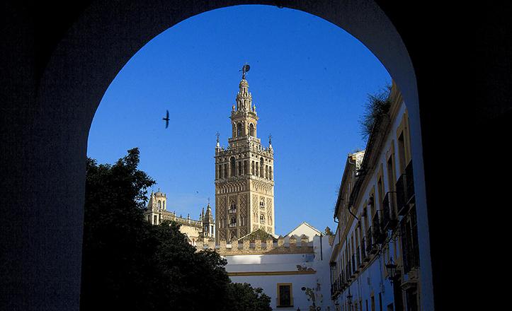 Vista de la Giralda / J.M. Serrano