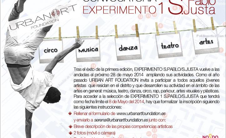 Abierto el plazo para la segunda edición de arte urbano «Experimento San Pablo»