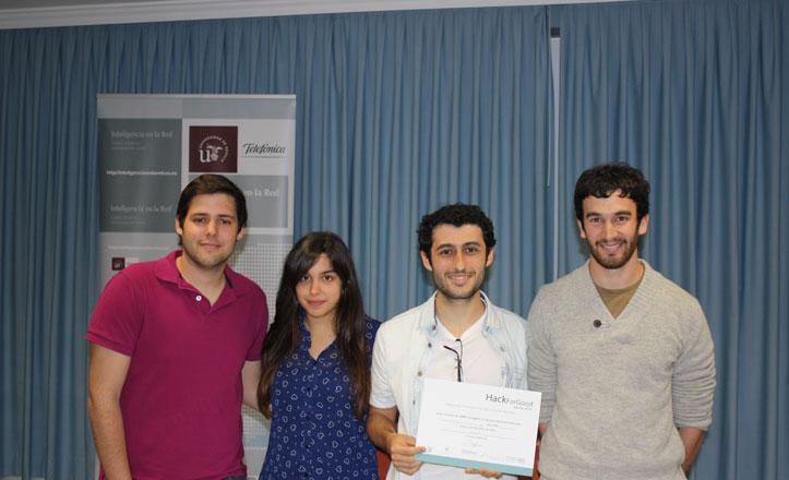Cuatro estudiantes sevillanos, premiados con la App Wanda