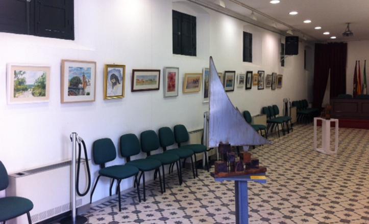 Las exposiciones de pintura tienen un peso importante en la actividad cultural del distrito.