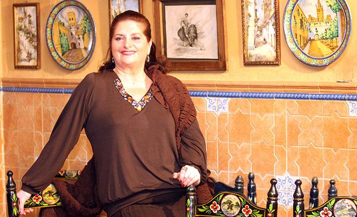 Homenaje a Anselma en la I Pasarela Flamenca Alma de Sevilla