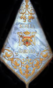 Banderín de San Bernardo «Sevilla Mariana»