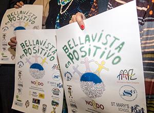 Cartel de Bellavista en positivo