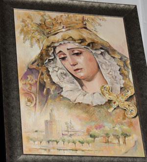 La Virgen de la Victoria anuncia la Semana Santa en Los Remedios