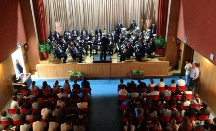 La Banda Sinfónica Municipal de Sevilla ofrece un concierto en el colegio Claret