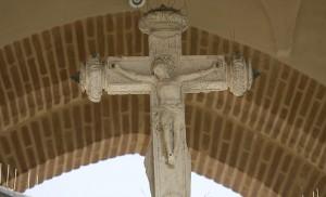 Cristo de Juan Bautista Vázquez «el Viejo» en la Cruz del Campo