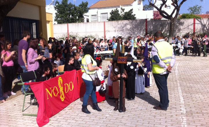 La procesión escolar del Martín de Gaínza, de las más antiguas de la ciudad