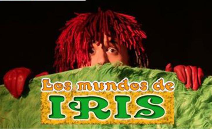 Cartel de la obra de teatro infantil «Los mundos de Iris»