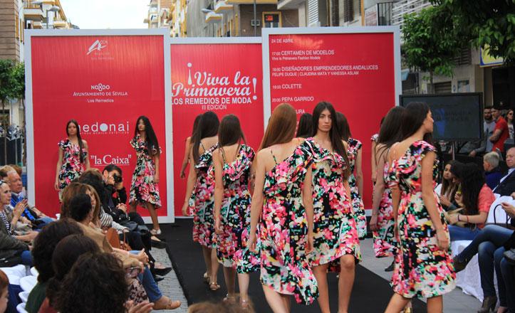 La calle Asunción vuelve a lucirse como pasarela de moda