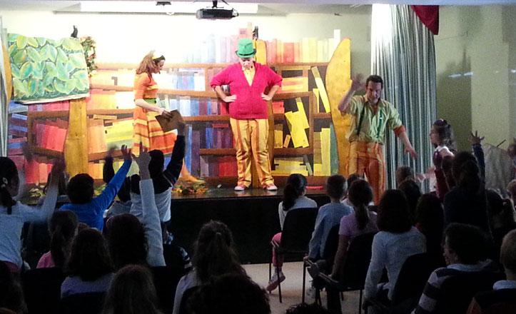 El colegio Al Andalus celebra el Día del libro