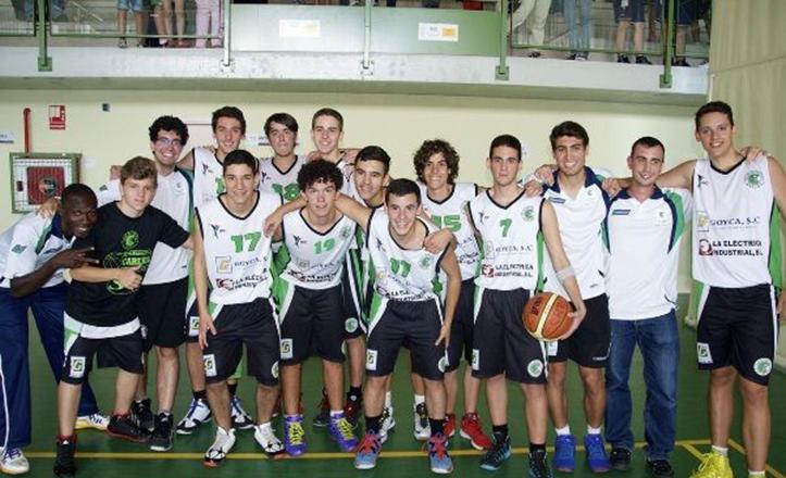 El equipo de baloncesto vencedor: CD Careba