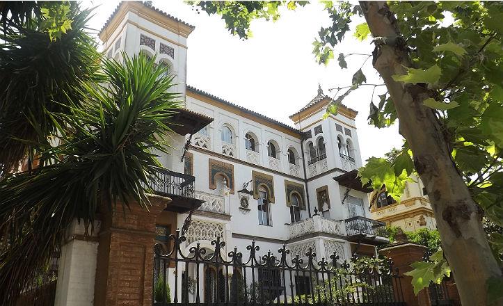 Las Casas Gemelas, obra de Juan Talavera