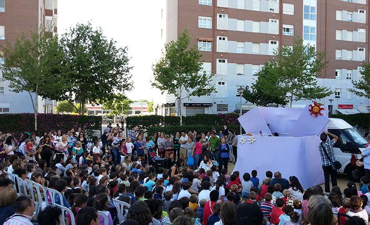 Espectáculo del III Ciclo de títeres de San Pablo-Santa Justa