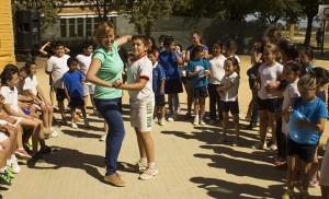 También hubo baile en las jornadas deportivas del Corpus Christi