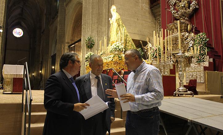 La Misa Macarena en la Plaza de España estará atendida por 40 profesionales de Cruz Roja