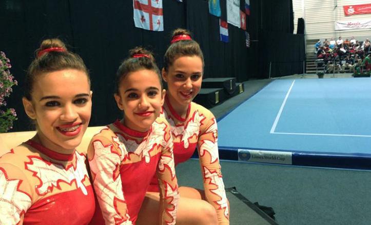 Ellas son las gimnastas del Distrito Cerro-Amate que han participado en Alemania