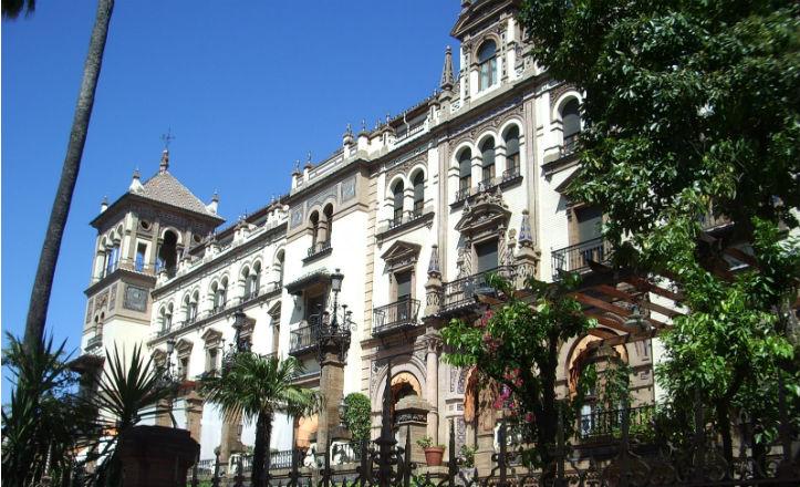Hotel Alfonso XIII, obra de José Espiau