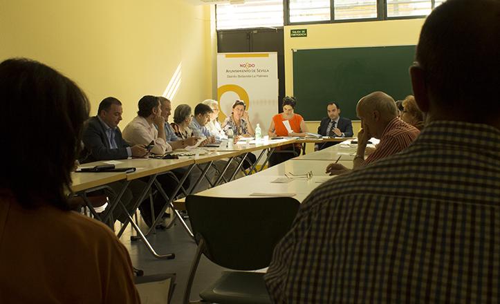Junta Municipal del Distrito Bellavista-La Palmera de mayo 2014
